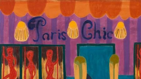 Tal R, 'Paris Chic,' 2017, pigment