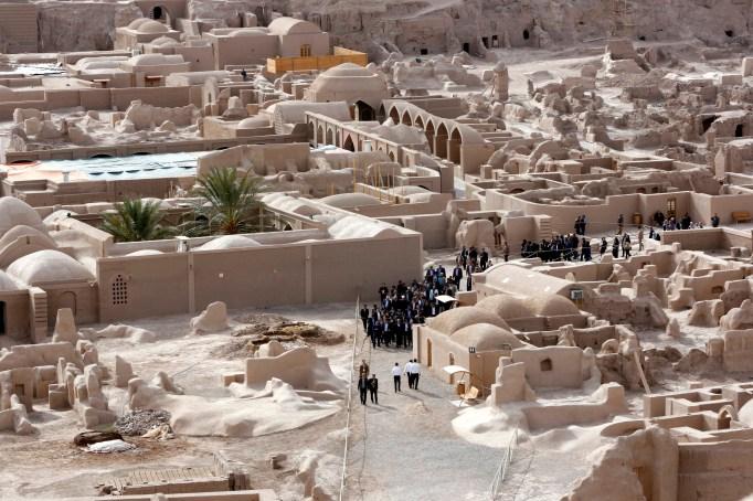 UNESCO World Heritage Site citadel Arg-e