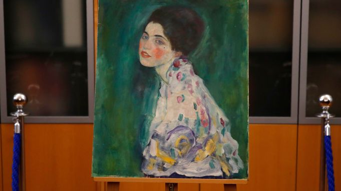 Gustav Klimt's painting 'Portrait of a