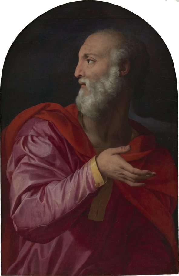 'Saint Cosmas' (around 1544), by the