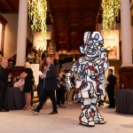 "TEFAF New York performance, May 2, 2019, Park Avenue Armory, New York, NY Jean Dubuffet, Neanter, May 1975, various media, 86-5/8"" × 29-1/2"" × 25-9/16"" (220 cm × 75 cm × 65 cm) overall, UNCLASSIFIED, No. 72007 Format of oiriginal photography: ldigital"