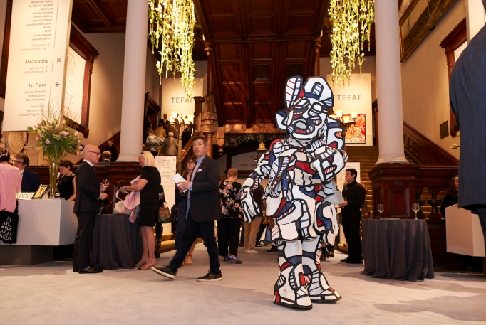 TEFAF New York performance, May 2,