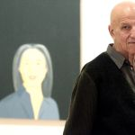 Us Artist Alex Katz Looks on in Front of the Painting 'Ada Smiles' From His Series Smile (1994) During the Opening of an Exhibition on Pop Art at the Guggenheim Museum in Bilbao Spain 19 November 2012 the Painting One of the Most Recent Adquisitions of the Museum is Presented For the First Time on the Occasion of the Exhibition That Runs Until October 2013 Spain BilbaoSpain Arts - Nov 2012