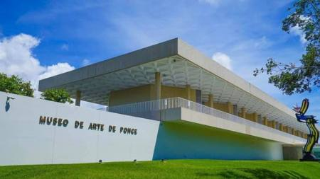 The Museo de Arte de Ponce.