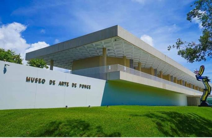 The Museo de Arte de Ponce.