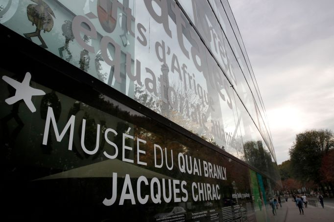 The Musée du Quai Branly–Jacques Chirac.