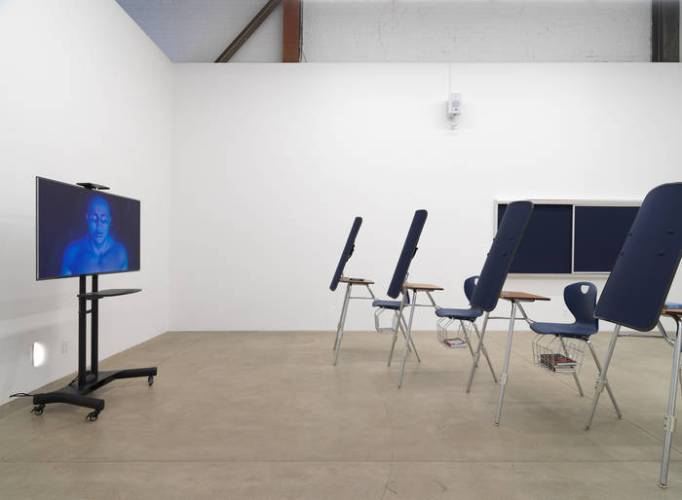 Installation view of American Artist's 2019