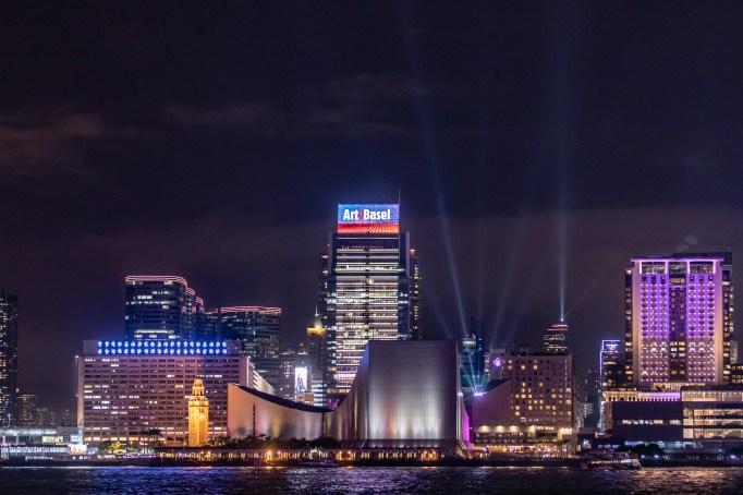 Art Basel Hong Kong's convention center.