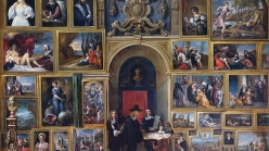 David Teniers the Younger, Archduke Leopold Wilhelm of Austria in His Gallery, 1651.
