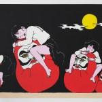 Toshio Saeki's 'Ureshi Daruma' (2018).