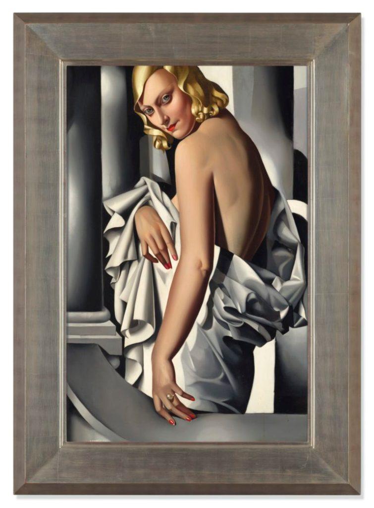 Record-Setting Tamara de Lempicka Portrait Returns in Rising Market for Artist's Work