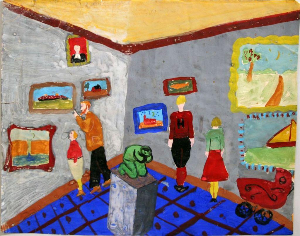 Outsider Art Fair Will Spotlight Children's Artworks from the 1930s at Upcoming New York Edition