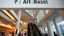 The entrance of the first Art Basel in Hong Kong.