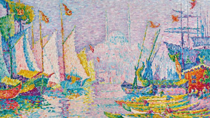 Paul Signac, 'La Corne d'Or. Matin,'
