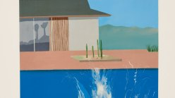 'A Splash' (1966) by David Hockney.