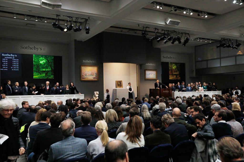 As Coronavirus Escalates, Sotheby's Relocates Modern and Contemporary Hong Kong Sales to New York