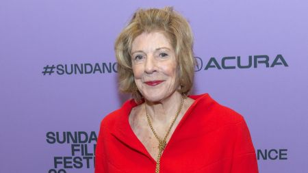 Agnes Gund at the 'Aggie' film