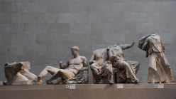 The Elgin Marbles.