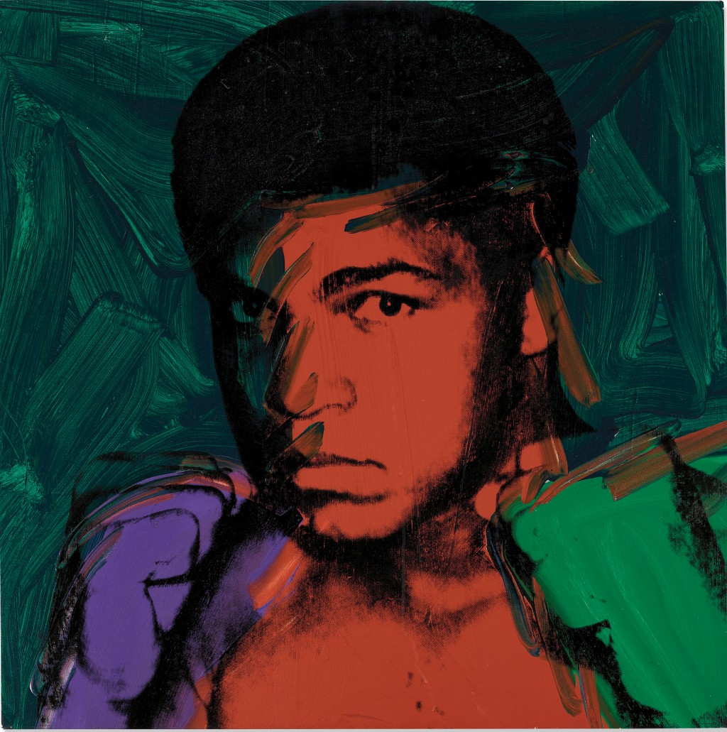 Warhol's Ali One of Few Heavyweights in Christie's £56.2m London Contemporary Sale