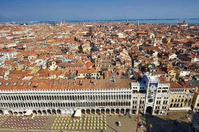 View of Saint Mark's Square, Venice,