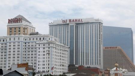 Trump Taj Mahal hotel Atlantic City