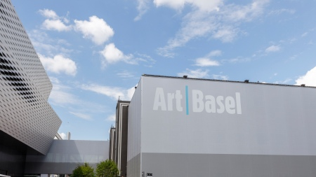 Exterior view of Art Basel 2019