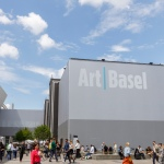 Exterior view of Art Basel 2019 in Switzerland.