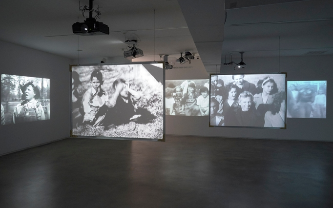 """View of the exhibition """"Kidnappers Foil,"""""""