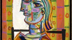 Pablo Picasso, Femme au beret et la collerette (Woman with Beret and Collar) (1937)