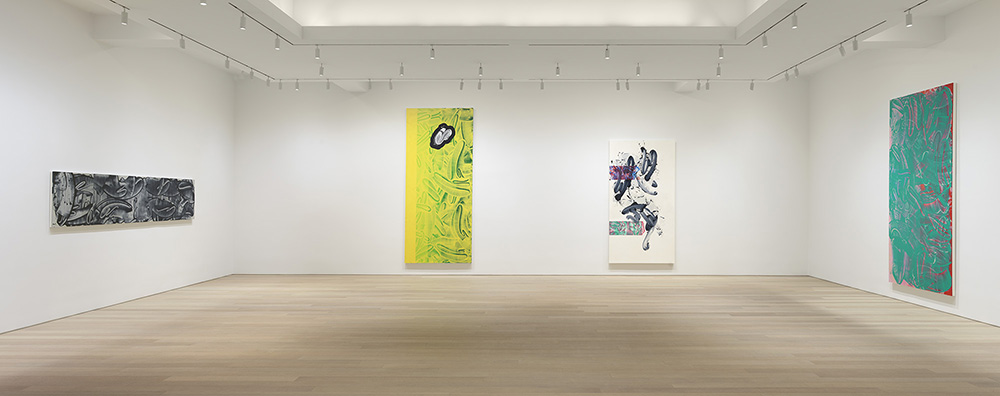 In David Reed's New Abstract Paintings, Motion Registers as Stasis