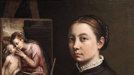 Sofonisba Anguissola, Self-Portrait at the Easel,