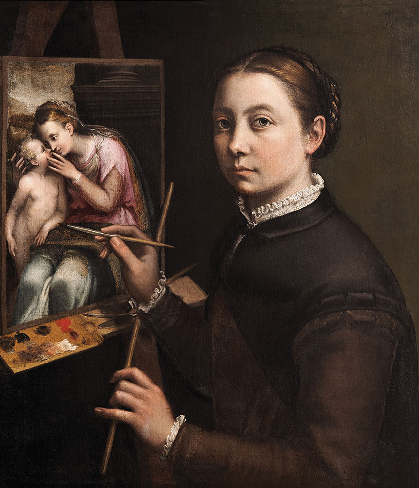 In the Sixteenth Century, Two Women Painters Challenged Gender Roles