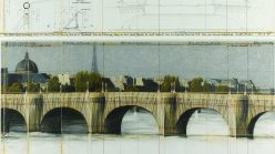 Christo and Jeanne-Claude, 'The Pont-Neuf Wrapped (Project for Paris)', 1985.
