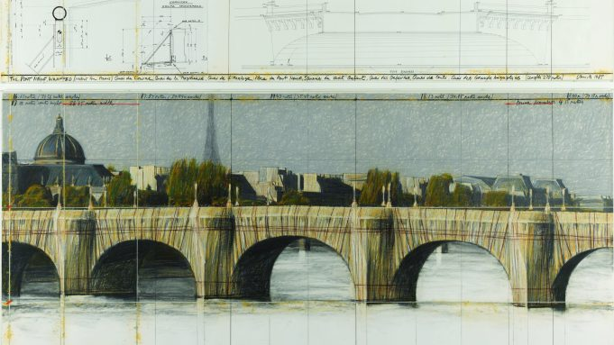 Christo and Jeanne-Claude, 'The Pont-Neuf Wrapped