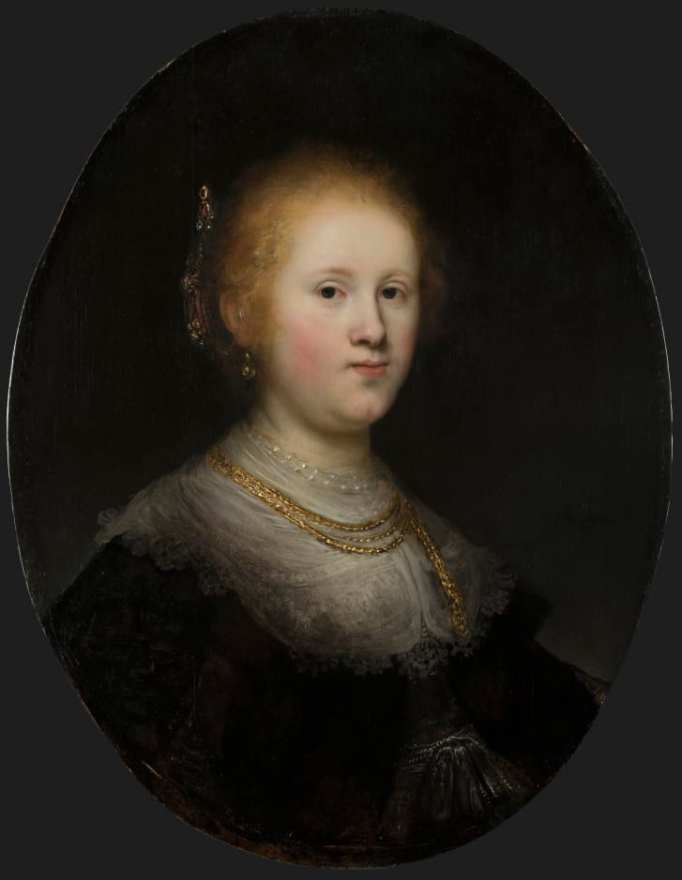 'Portrait of a Young Woman' (1632)
