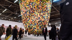 A work by Pascale Marthine Tayou at the 2019 Armory Show