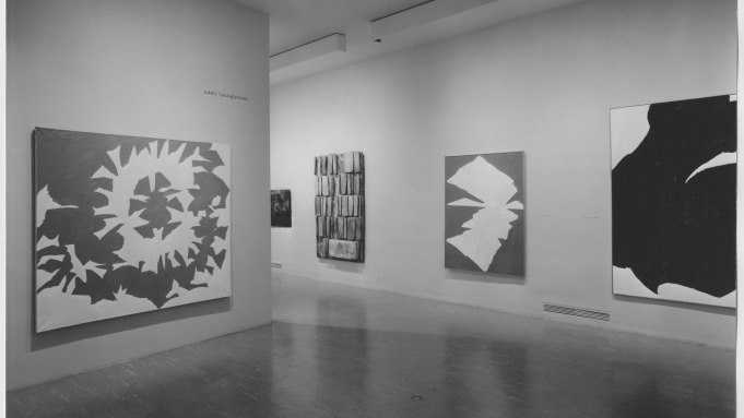Work by Jack Youngerman in 1959's