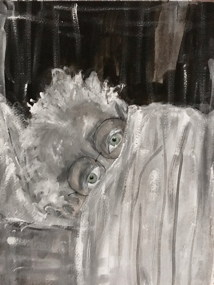 A self-portrait by Franesco Bonami.