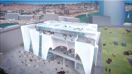 A rendering of Barcelona's planned outpost