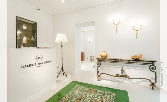 Galerie Marcilhac in Paris.