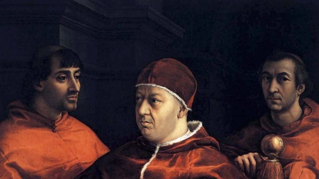 'Portrait of Pope Leo X' (1518)