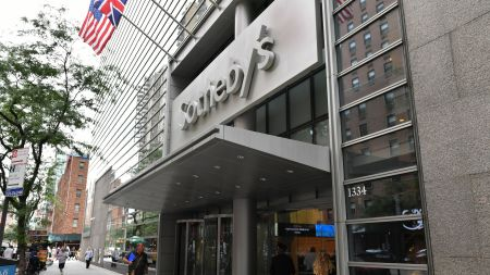 Sotheby's in New York.