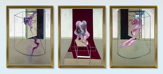 Francis Bacon's 'Triptych' will be offered