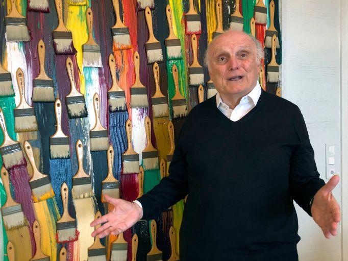 On, billionaire art dealer David Nahmad