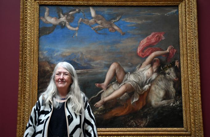 Mary Beard at the National Gallery