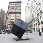 Empty streets in New York