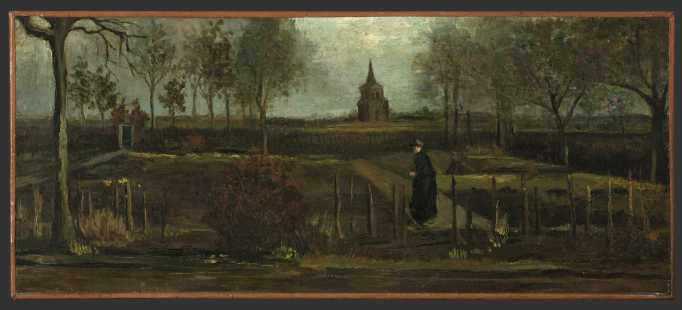 Vincent van Gogh, 'The Parsonage Garden