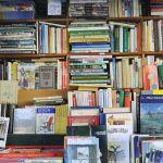 A corner brimming with books