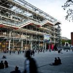 The Centre Pompidou in Paris.