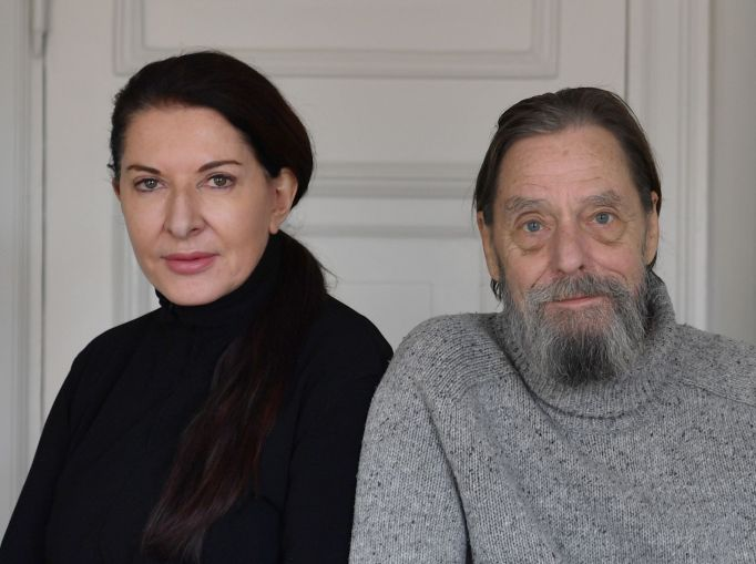 Marina Abramovic and Ulay.
